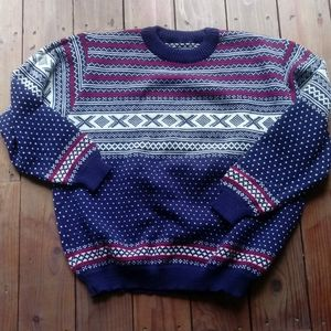 Fairisle LL Bean Wool Sweater